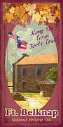 Historic Site Prints - Ft Belknap Historic Site Print by Jim Sanders