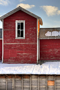 Fort Collins Art - Ft Collins Barn 13496 by Jerry Sodorff