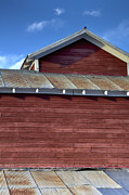 Fort Collins Art - Ft Collins Barn 13550 by Jerry Sodorff
