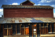 Ft Collins Barn 13553 Print by Jerry Sodorff