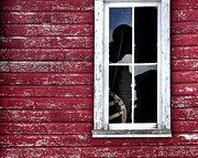 Fort Collins Art - Ft Collins Barn Window 13568 by Jerry Sodorff