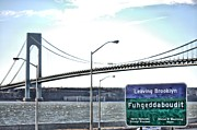 Staten Island Framed Prints - Fuhgeddaboudit Framed Print by JC Findley