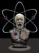 Edison Framed Prints - Fukushima Man Framed Print by Daniel Hagerman