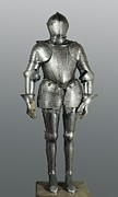 Full Armour. Made In Milan Print by Everett