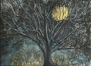 Knows Prints - Full Moon Print by Douglas Beatenhead