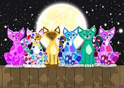 Nick Gustafson - Full Moon Felines