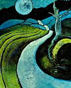 Full Moon Print by Francine  Zinga