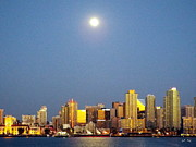 Kimberly-Ann Talbert - Full Moon Over San Deigo