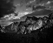 Tunnel View Prints - Full moon view Print by Charles Garcia