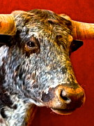 Whittle Prints - Full of Bull Print by Dee Dee  Whittle