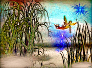 Magical Creatures Digital Art - Full of Magic Pond by Daniel Janda