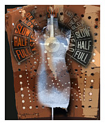 Dress Mixed Media Metal Prints - Full Speed Ahead Metal Print by Bob Salo