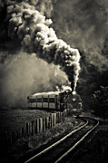 Nz Prints - Full Steam Ahead Print by Phil 