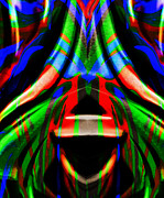 Wild Imagination Prints - Funky Abstract Print by Paul St George