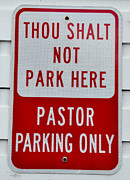Gary Whitton - Funny Church Parking Sign