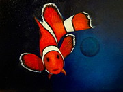 Clown Fish Originals - Funny Fish by Alicia Hayes
