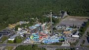 Saco Framed Prints - Funtown Splashtown Usa, Saco Framed Print by Dave Cleaveland