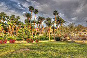 Secluded Mountain Landscape Prints - Furnace Creek Inn Print by Heidi Smith