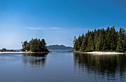 Queen Charlotte Strait Prints - Fury Cove Print by Robert Bales