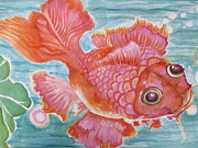 Lynn Maverick Denzer - Fuschia Goldfish