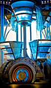 Generators Prints - Futuristic Water Wheel I Print by Craig Roberts