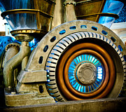 Generators Prints - Futuristic Water Wheel II Print by Craig Roberts