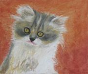 Fuzzy Kitten Print by Jeanne Fischer