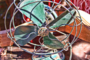 Electric Fan Framed Prints - G E Fan Framed Print by Audreen Gieger-Hawkins