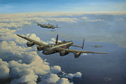 Bomber Painting Framed Prints - G for George Framed Print by Steven Heyen