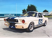 Automobilia Paintings - G T 350 by Robert Hooper