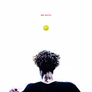 Tennis Player Prints - Gael Monfils Print by Nishanth Gopinathan