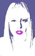 Lady Gaga Digital Art - Gagas Lips by Billy Granneman