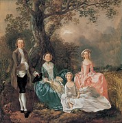 6:35 Prints - Gainsborough Thomas, The Gravenor Print by Everett