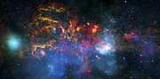 Outer Space Photos - Galactic Storm by The  Vault