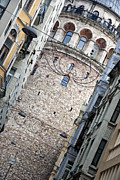 Byzantine Art - Galata tower 01 by Antony McAulay