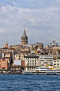 Byzantine Art - Galata tower 02 by Antony McAulay