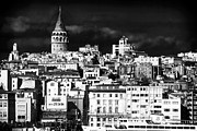 School Houses Photos - Galata Tower II by John Rizzuto