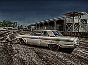 Old Car Art - Galaxie 500 4 by Thomas Young