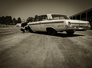 Old Car Art - Galaxie 500 5 by Thomas Young