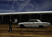 Old Car Art - Galaxie 500 8 Lightest by Thomas Young