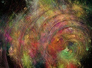 Galaxies Digital Art - Galaxy 34G21A by Betsy A Cutler East Coast Barrier Islands