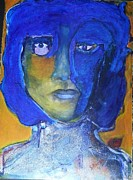 Night Out Painting Originals - Galaxy Boy by Sandra Bocas