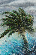 Frond Painting Prints - Gale Print by Bill Yurcich