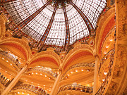 Fashion Designers Prints - Galeries Lafayette Paris Print by Heidi Hermes
