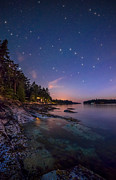 Twinkle Framed Prints - Galiano Island Stars Framed Print by James Wheeler