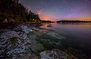 Twinkle Framed Prints - Galiano Shore Framed Print by James Wheeler