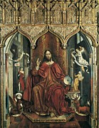 Christ Pictures Prints - Gallego, Fernando 1440-1507. Christ Print by Everett