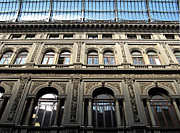 Umberto Framed Prints - Galleria Umberto I detail Framed Print by Kiril Stanchev