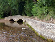 Packhorse Prints - Gallox Bridge near Dunster Print by Carla Parris