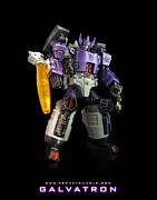 Raf Mixed Media Posters - Galvatron Poster by Frenzyrumble